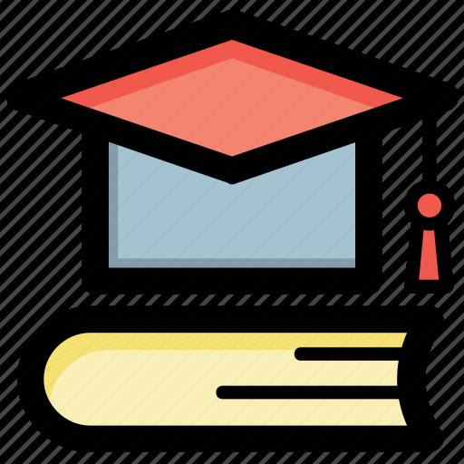 education, graduation, knowledge, scholarship, wisdom icon