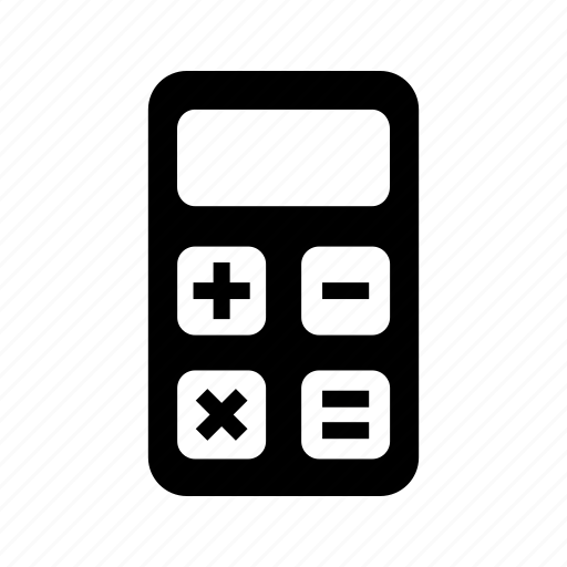 business, calculations, calculator, math, numbers icon
