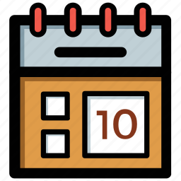 appointment, calendar, date, event, time frame icon