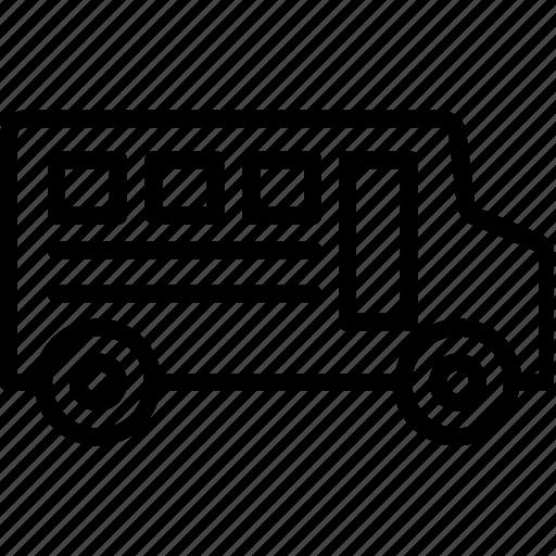 bus, education, school bus, transport, transportation, vehicle icon