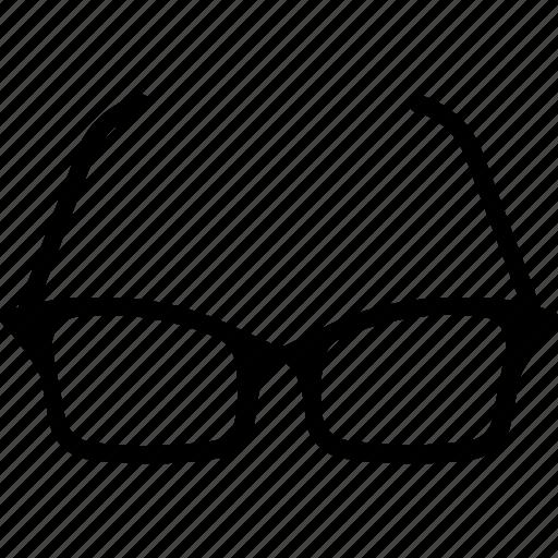 eye glasses, eyeglasses, glasses, spectacles icon