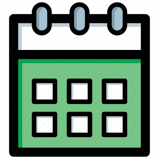 calendar, daily to do, date icon