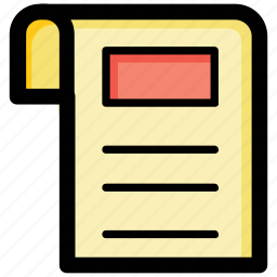 agreement, article, contract, document, report icon