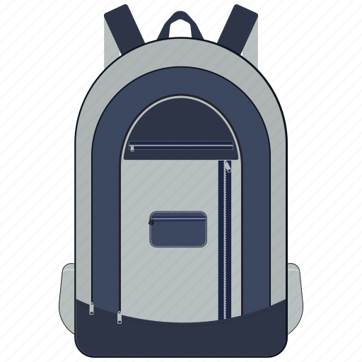 backpack, bag, education, learning, school, study icon