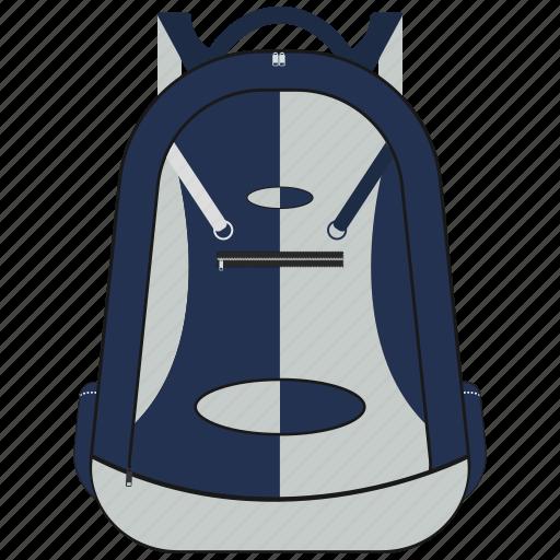 accessories, bag, school icon