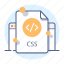 code, css, development, programming icon