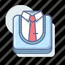 clothes, school, shirt, uniform icon