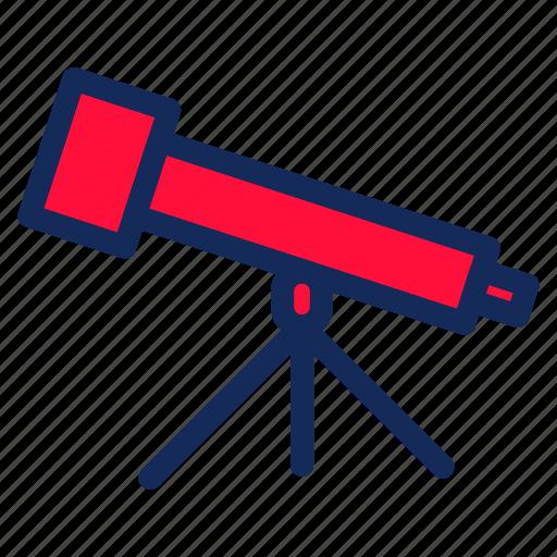 education, school, student, study, telescope icon