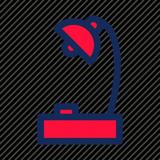 education, lamps, school, student, study icon
