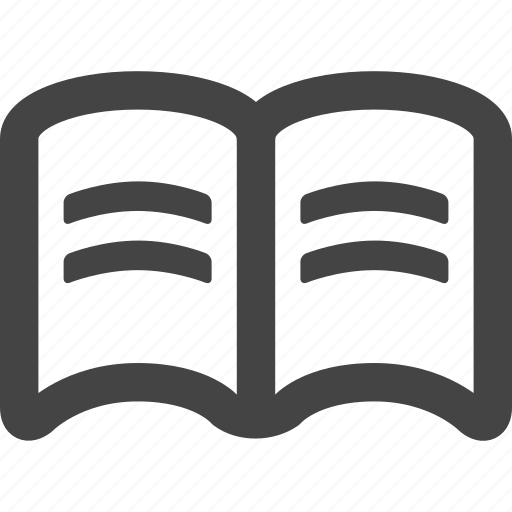 book, education, library, notebook, read, reading, study icon