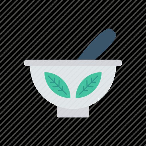 bowl, food, herbal, mixing icon