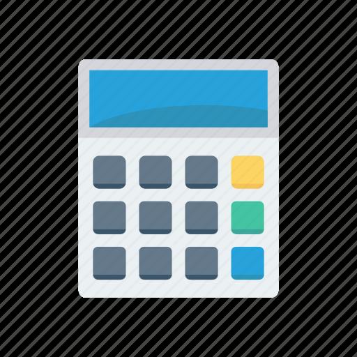 accounting, calculator, education, mathematics icon