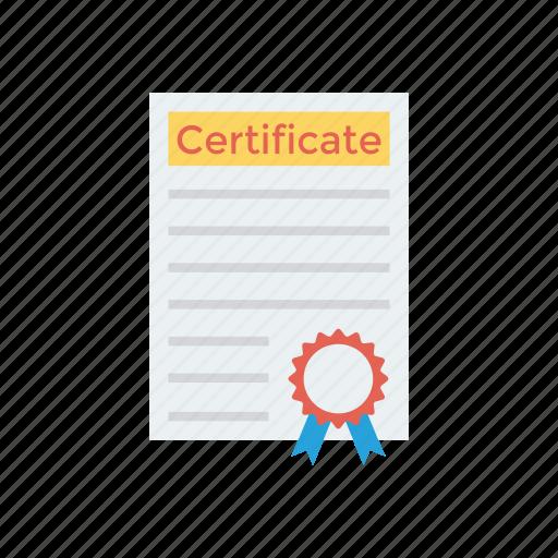 achievement, certificate, degree, diploma icon