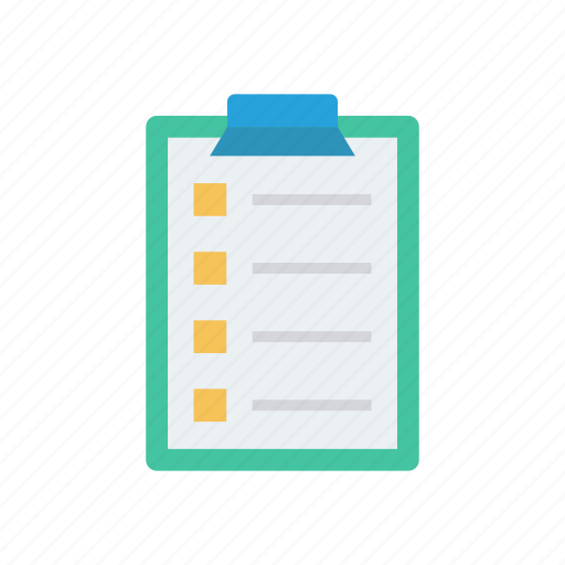clipboard, document, page, sheet icon