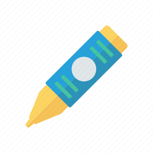 color, drawing, pencil, tool icon