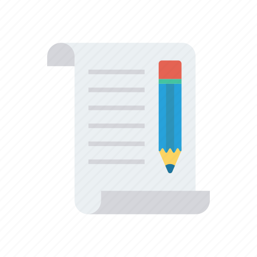 document, edit, page, write icon