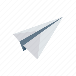 paper, plane, send, share icon