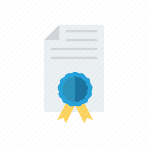 achievement, approved, certificate, document icon