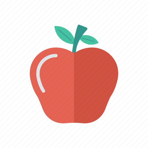 apple, education, fruits, healthy icon