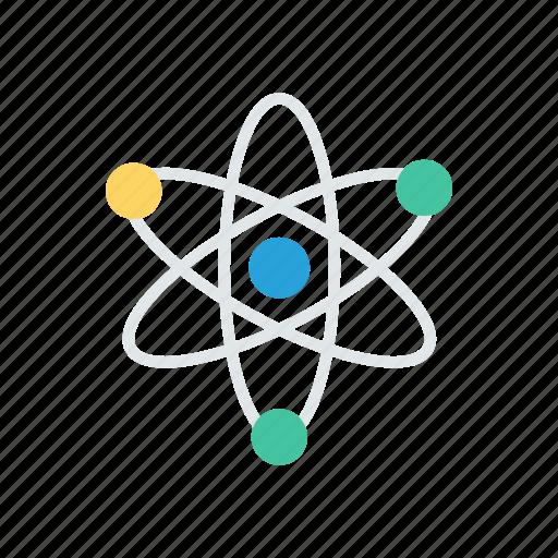 atoms, chemistry, molecules, science icon