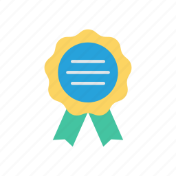 achievement, award, badge, medal icon