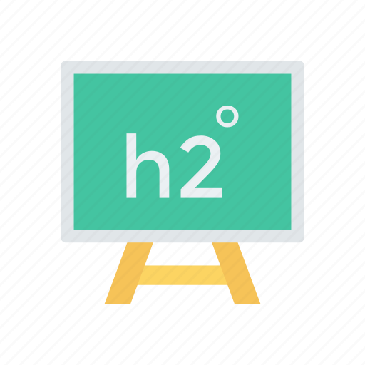 chemistry, education, formula, science icon