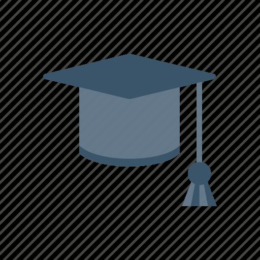 cap, educaiton, graduate, hat icon