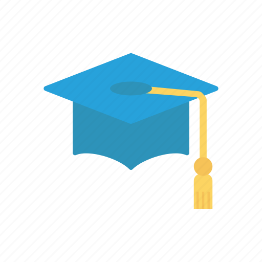 bechular, cap, graduate, hat icon
