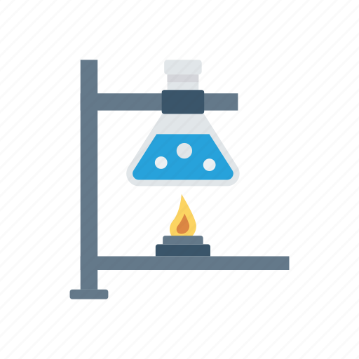 chemistry, experiment, flask, lab icon