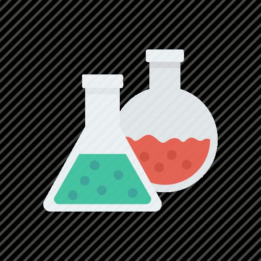 Beaker, chemistry, flask, lab icon - Download on Iconfinder