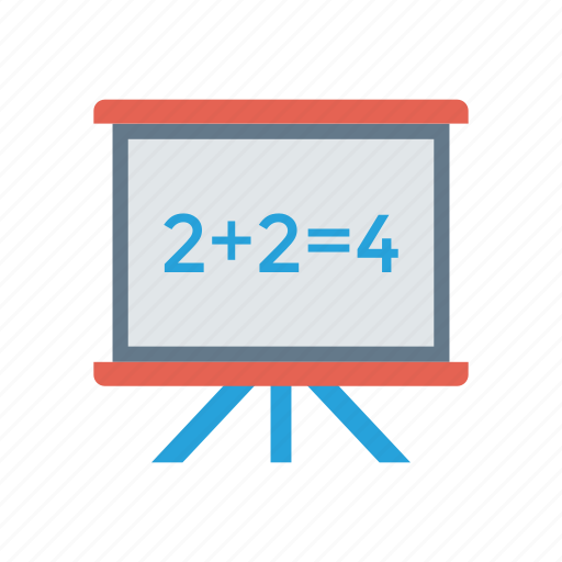 board, education, mathematic, teaching icon