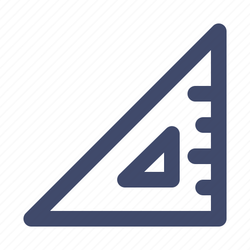 alignment, geometric, mesurement, tool icon