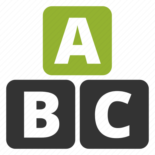 abc, blocks, education, kids, kindergarten, learning, letters, pre-school, preschool, school, study, training icon