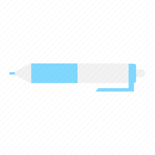 Ballpoint, education, learning, office, pen, school, write icon - Download on Iconfinder