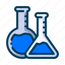 chemistry, education, lab, laboratory, learning, school, student icon