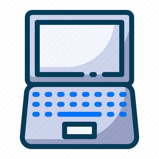 computer, device, education, laptop, learning, school, student icon