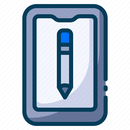 e learning, education, learning, mobile learning, school, smartphone, student icon