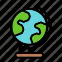 globe, earth, global, planet, world, study, map