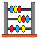 abacus, math, mathematics, school, university icon