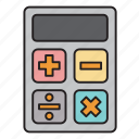calculator, math, mathematics, school, university icon