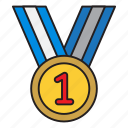 achievement, medal, school, sport, university