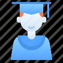 boy student, education, graduation, learning, mortarboard, school, student
