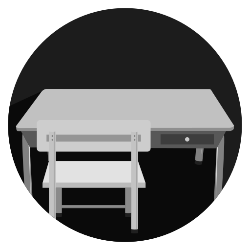 chair, furniture, househol, table icon