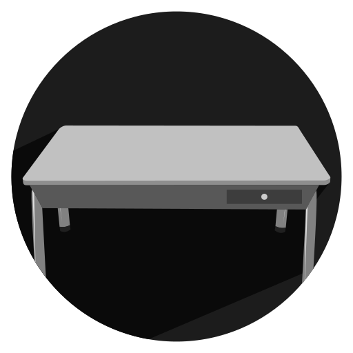 furniture, school, table icon