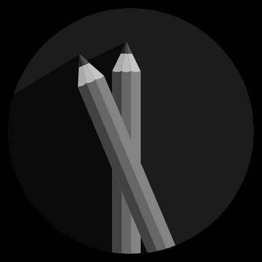 pencil, school, work icon