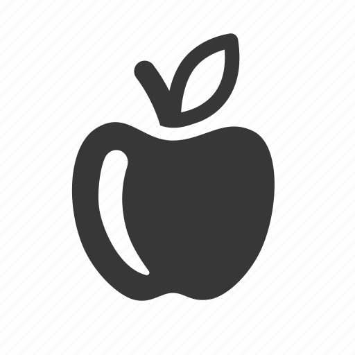 apple, education, learning, raw, school, simple, study icon