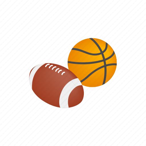 ball, basketball, competition, isometric, rugby, sport, team icon