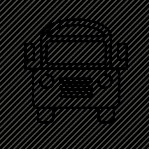 bus, children, drive, driver, journey, school, transportation icon