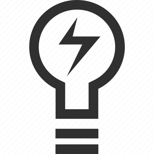 bulb, learning, light, school icon
