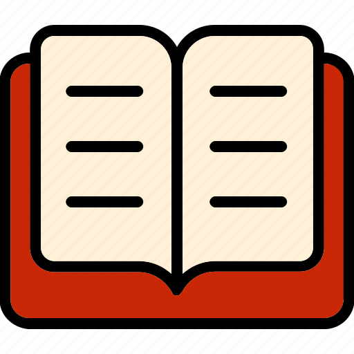 books, read, reading, school icon